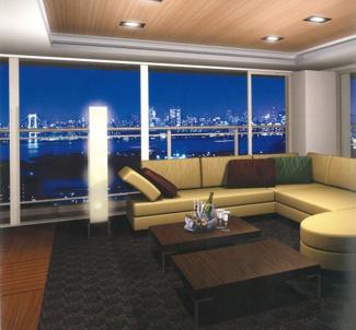 WコンフォートタワーズWest棟36階には、洗練された落ち着きの中でパーティーを愉しむシティバンケットが用意されております。
