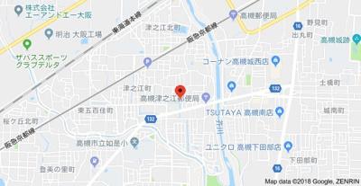 【地図】ドミール津之江