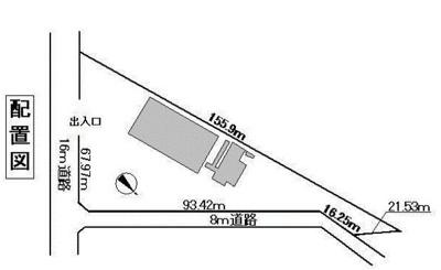 【区画図】千葉東テクノグリーンパーク内工場