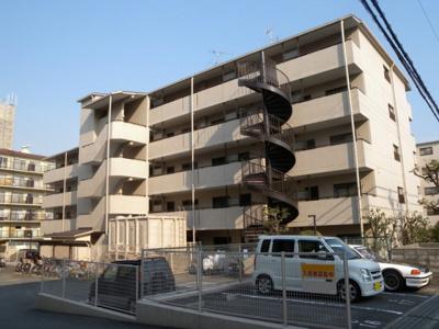 【外観】香里ヶ丘Ⅱ番館