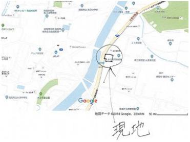 【地図】高知市大津