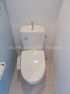 Lavish赤羽のシンプルで使いやすいトイレです