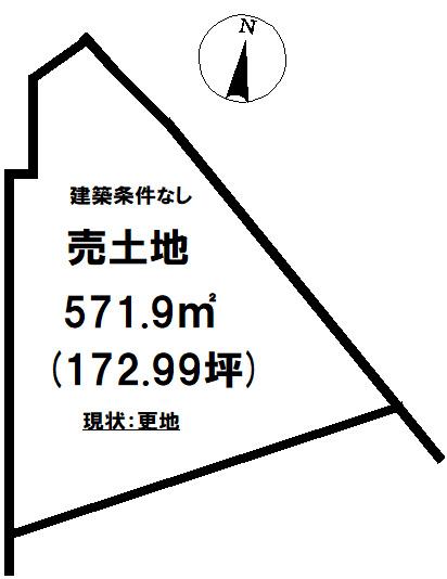 【土地図】久之浜町久之浜 売土地