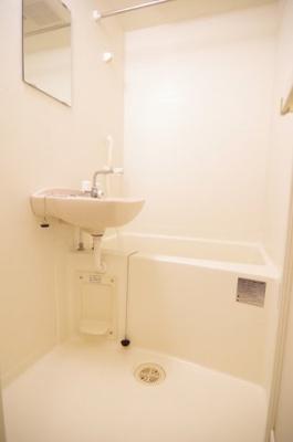【浴室】レオパレスサンプラザⅠ
