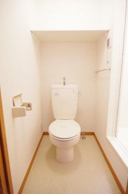 【トイレ】レオパレスサンプラザⅠ
