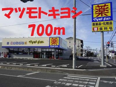マツモトキヨシ高崎下豊岡町店まで700m