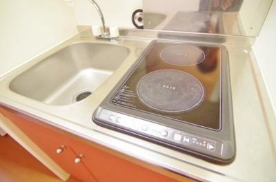 【キッチン】レオパレスフレンズ