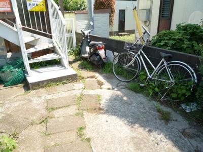 駐輪場(バイクも置けます♪)