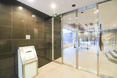 【エントランス】ライオンズ東大島リバーフィールド 平成21年築 空 室