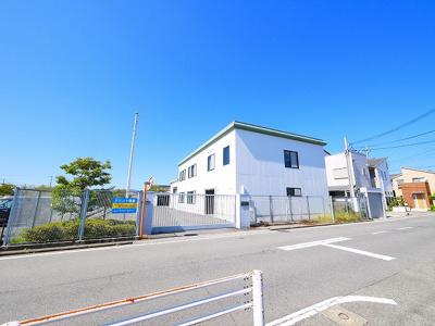 【外観】三条桧町 貸倉庫事務所