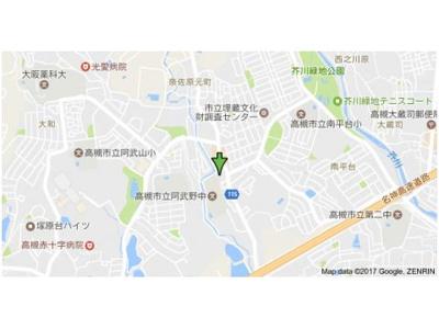 【地図】南平台ヤタヒルズⅡ