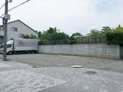 【外観】上坂部3丁目一括貸駐車場