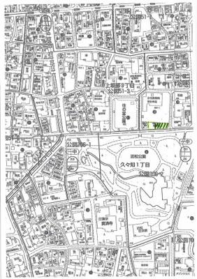 【地図】上坂部3丁目一括貸駐車場