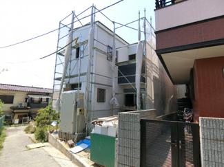 JR魚住駅徒歩14分の新築住宅 現在工事中です 完成が待ち遠しいですね
