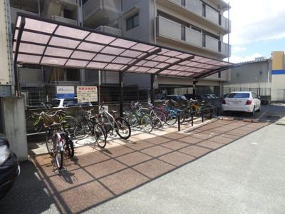 自転車置き場(屋根付き)