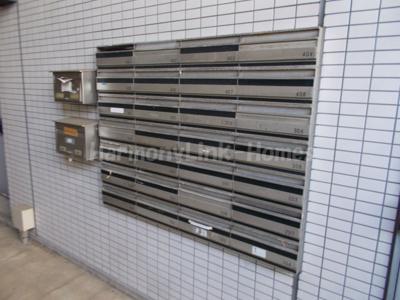 ペガサスマンション十条の郵便ボックス