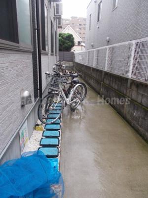 セレージャ堀ノ内の駐輪スペース☆