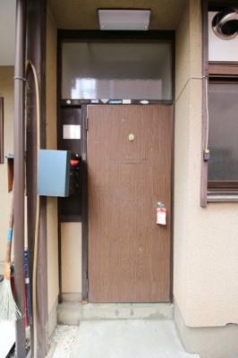 【玄関】紫竹西大門町貸家