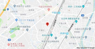 【地図】サカエハイツ