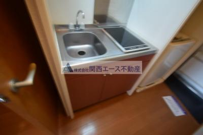 【キッチン】レオパレスCOMFORT