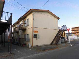 【外観】福島県相馬市2棟一括売りアパート