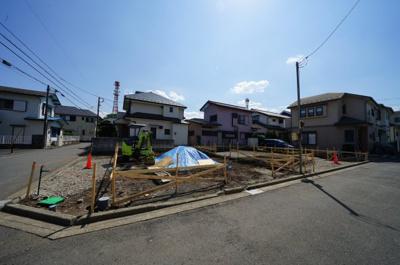 【外観】保土ヶ谷区川島町全2棟 新築戸建【成約】