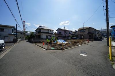 【前面道路含む現地写真】保土ヶ谷区川島町全2棟 新築戸建【成約】