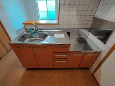 【キッチン】ビーバンウエスト