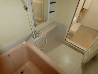 【浴室】姿見台スカイハイツA棟