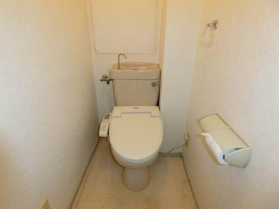 【トイレ】姿見台スカイハイツA棟