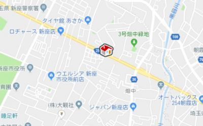 【地図】レオパレス新座サンハイツ(38584-403)
