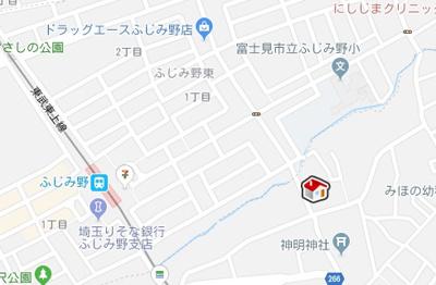 【地図】レオネクストセレッサ(47126-102)