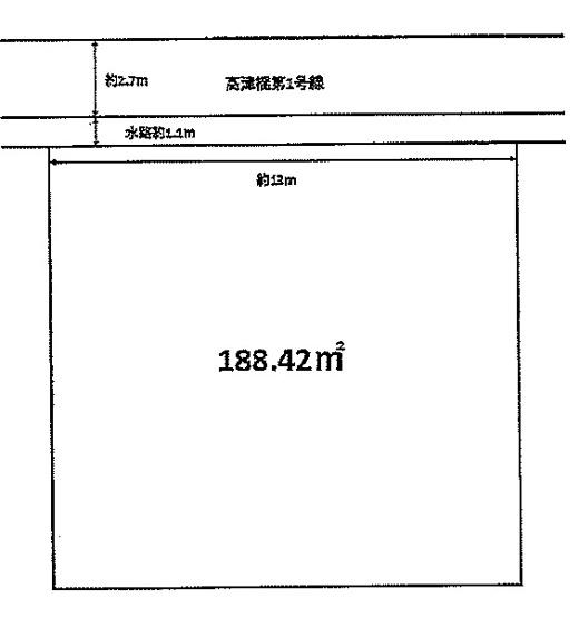 【土地図】神戸市西区玉津町高津橋 土地