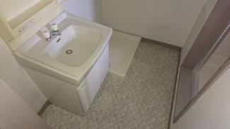 清潔感のある洗面所です♪