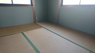 ほっと一息つける和室ですね♪窓もあって明るいです♪