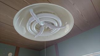 和室に設置済みの照明器具です!