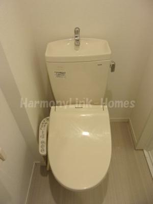ひかりコーポハイムの清潔感のあるトイレです☆☆