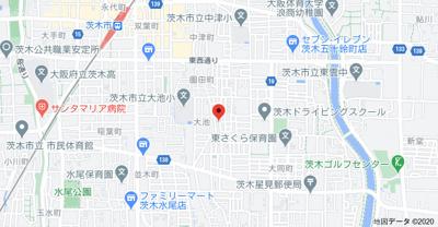 【地図】レジデンス大池