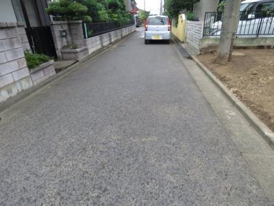 【前面道路含む現地写真】上戸新町売地