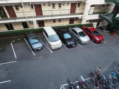 【駐車場】岡本センチュリーマンション