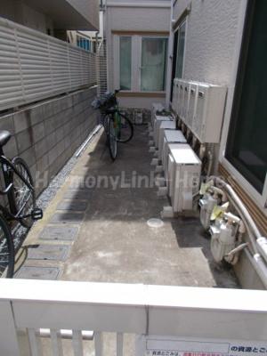 フェリスコスモの駐輪スペース