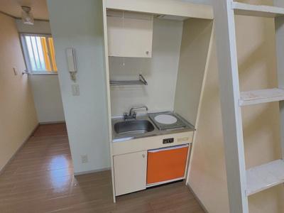 【キッチン】コーポ若山