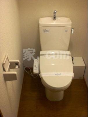 【トイレ】レオパレスハピネスオリーブ(45912-202)