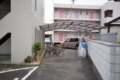 スタートⅠ 屋根付き駐輪場