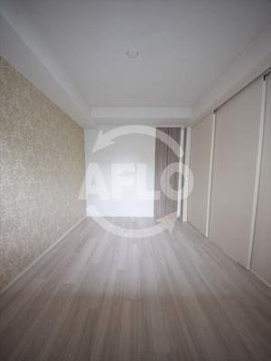 プラウド南堀江 洋室はスライド扉で開くことも可能です