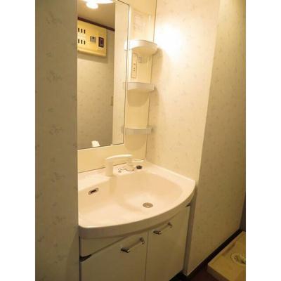 V-ROOM幕張本郷の洗面台