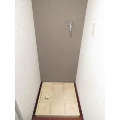 V-ROOM幕張本郷の洗濯機置き場