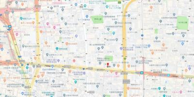 【地図】セレニテ梅田ルフレ