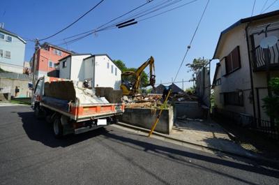 【外観】保土ヶ谷区法泉2丁目 新築戸建て【成約】