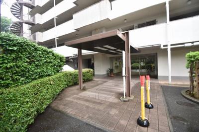 【エントランス】妙蓮寺ハウスA棟